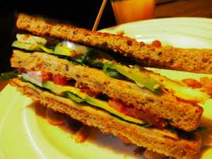 koolhydraatarme sandwich layers