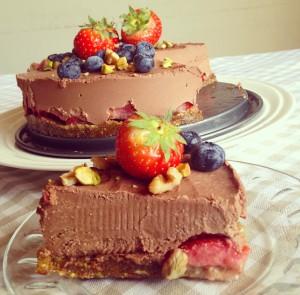 rauwe taart