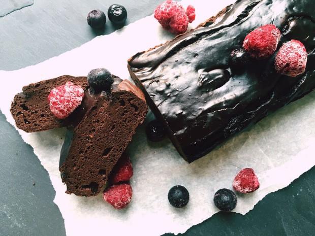 Avocado Chocolade Cake
