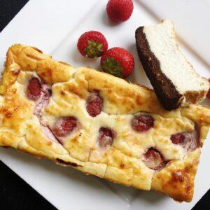 cheesecake proteïne chocolade white chunks