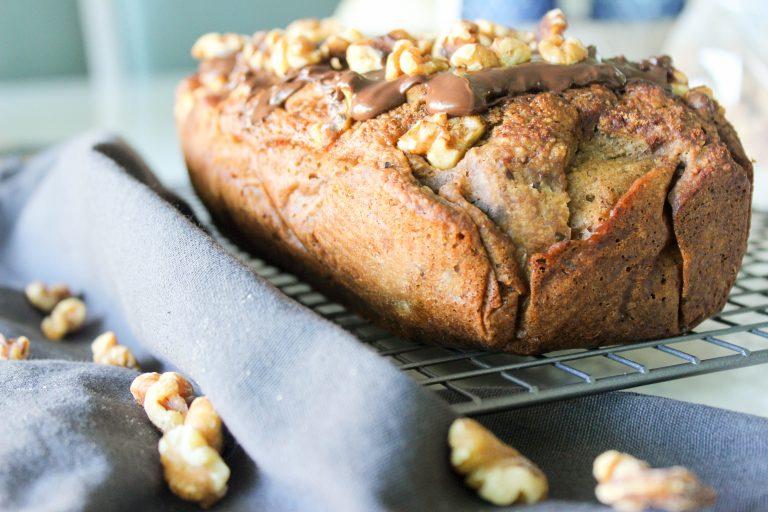 bananenbrood, bananenbrood recept, gezond recept