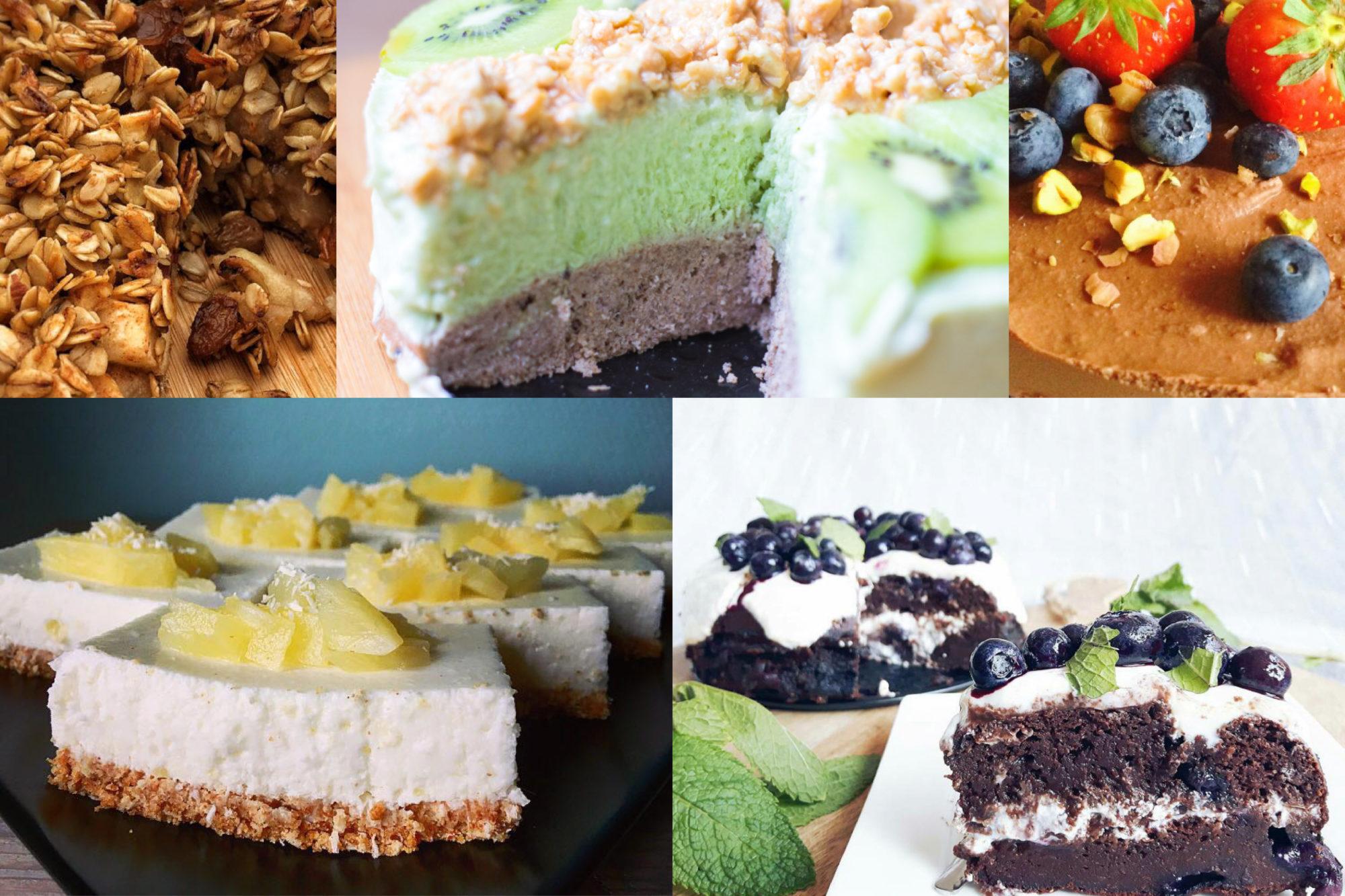 gymjunkies favorites 5 taart recepten