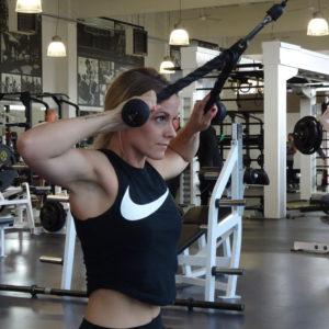 schouder biceps workout van branca pokorny
