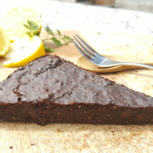 brownies courgette vegetarisch recept nicole gabriel