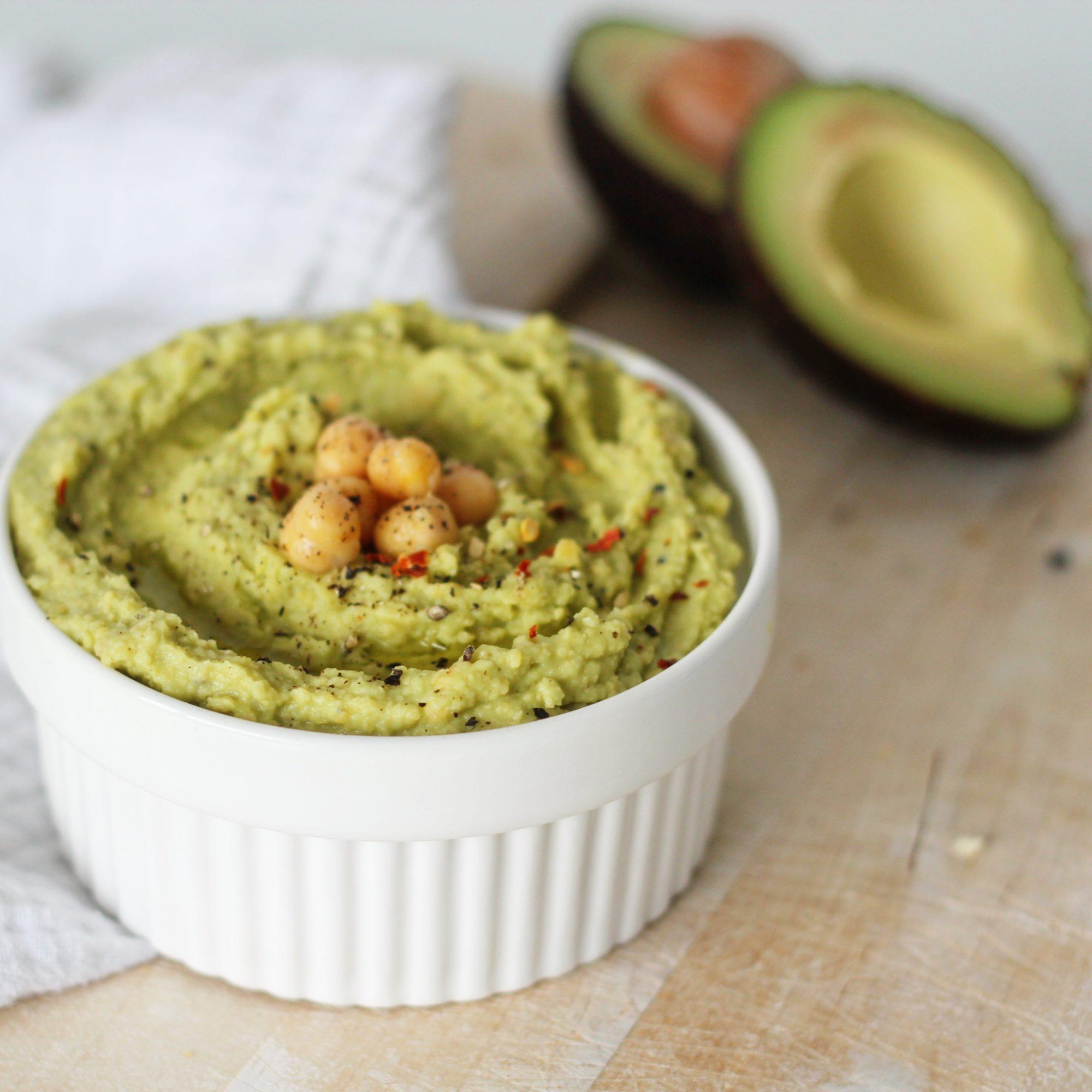 zelfgemaakte avocado hummus recept lindsey mamasuperdun