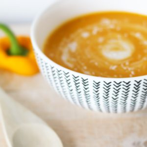 zoete aardappel-paprika soep mamasuperdun recept
