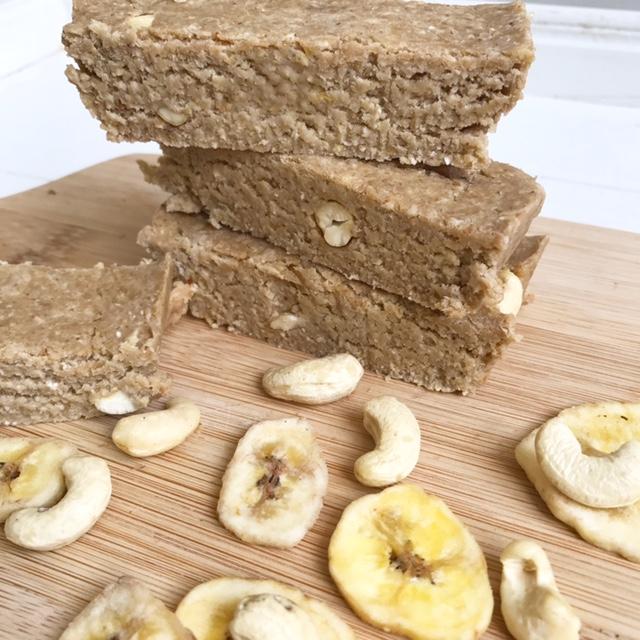 banaan proteïne reep raw recept thalita martens