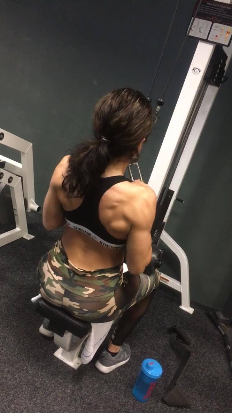 back workout by amy swart @gainsandoreos