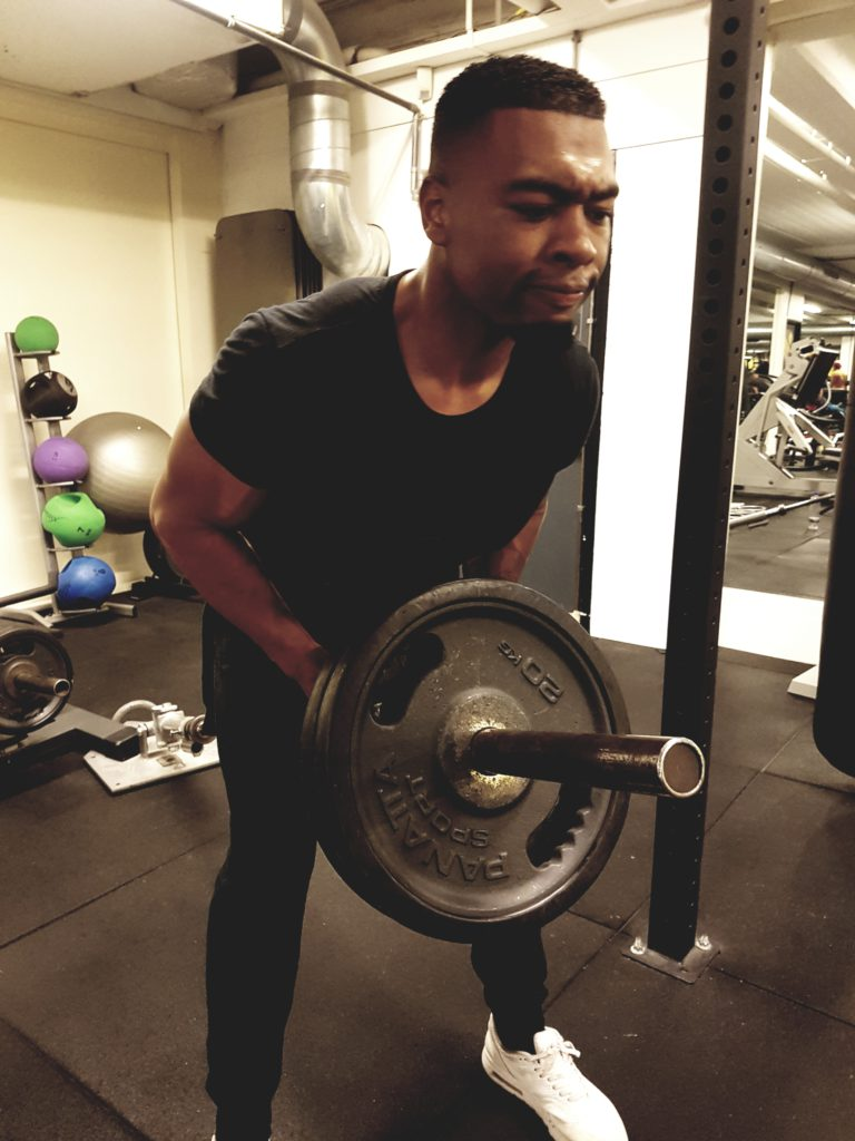 workout training rug triceps kevin