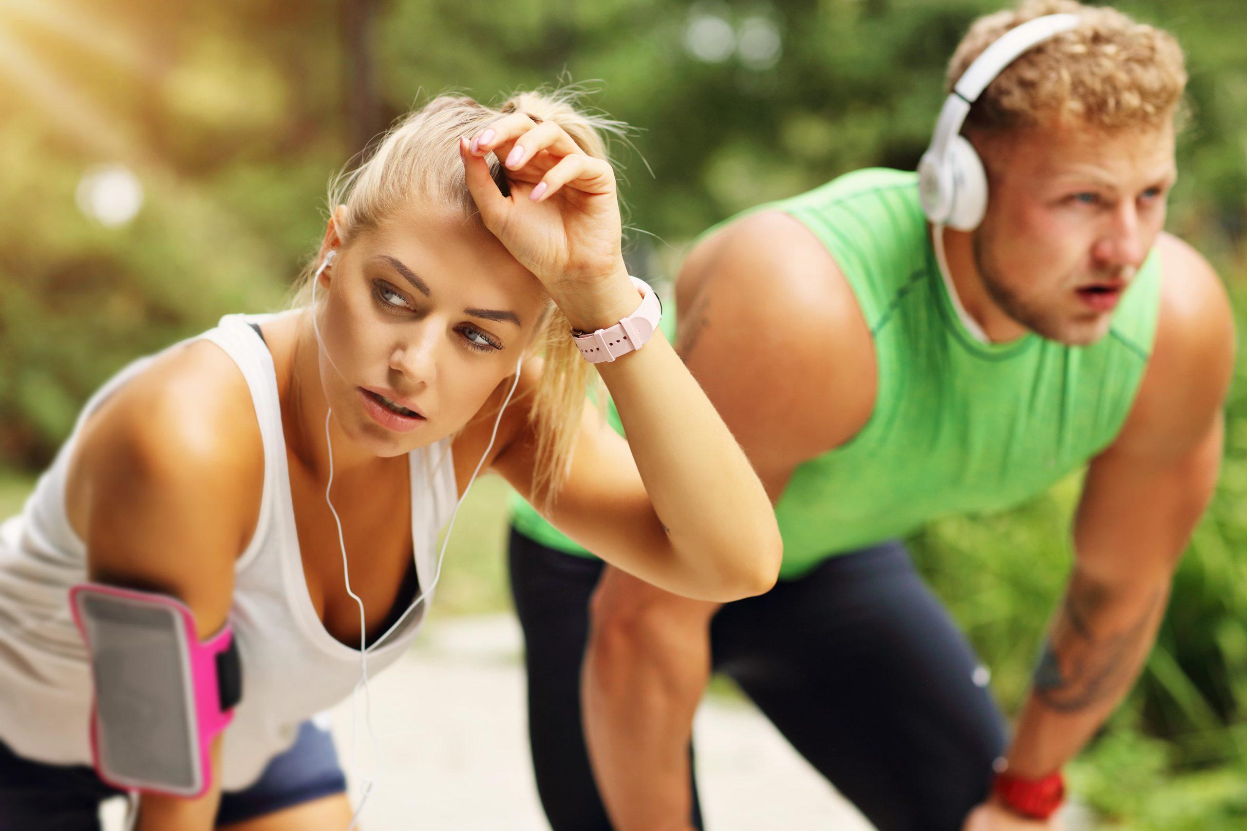 te moe om te sporten na het werk