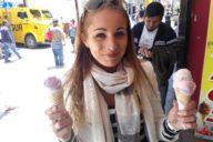 Het eetdagboekje van Sharon klant online coaching gymjunkie lifestyle plan succesverhaal ijs