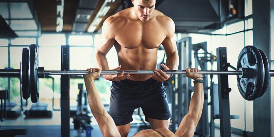 apparaten of losse gewichten het grote verschil spotter bench press