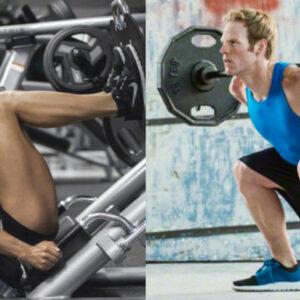 apparaten of losse gewichten het grote verschil squat leg press