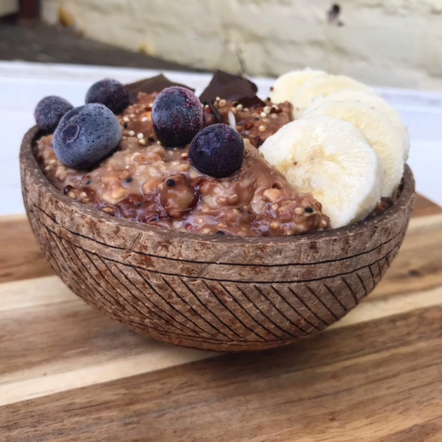 quinoa chocolade ontbijt recept thalita martens