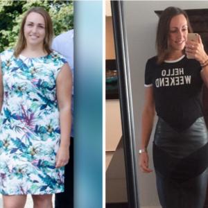 update succesverhaal hoe gaat het met steffi gymjunkie lifestyle plan online coaching cynthia houben