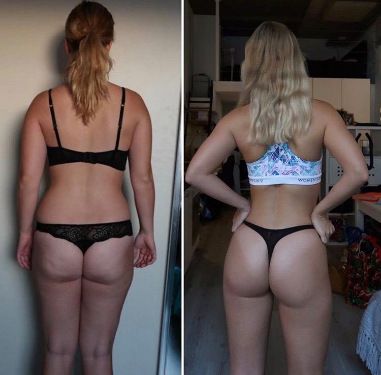 gymjunkie van de maand marit fitgirl.marit transformatie