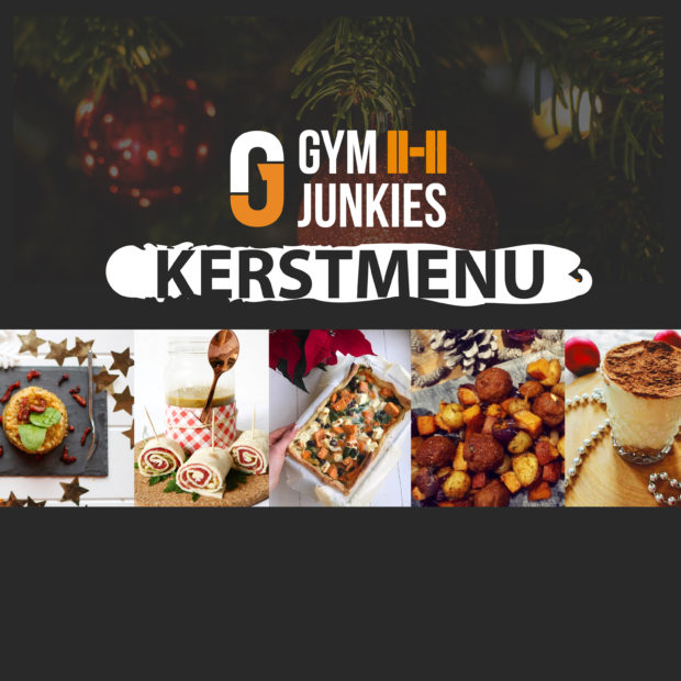 gymjunkies kerstmenu 2018 recept