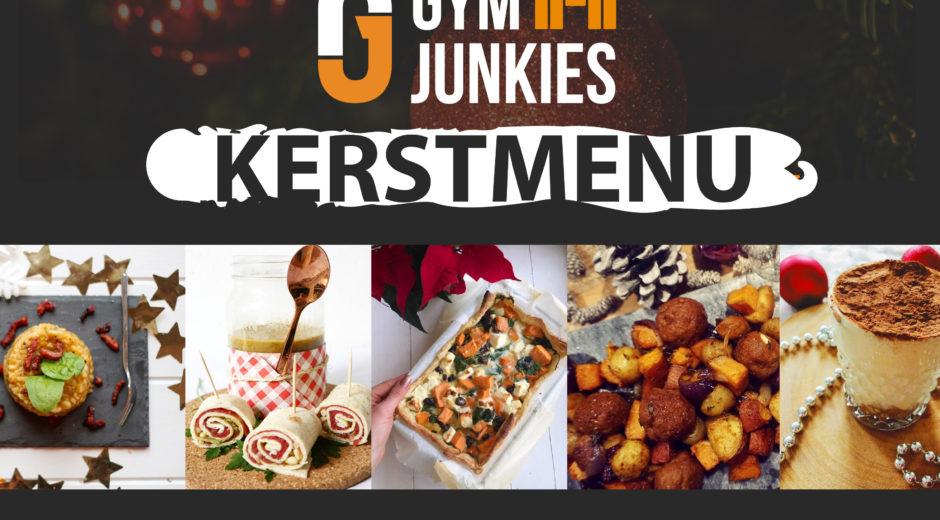 gymjunkies kerstmenu 2018 recept