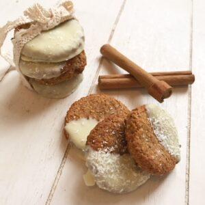 recept eiwitrijke kaneel koekjes thalita martens