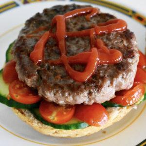 hamburger beef burger recept