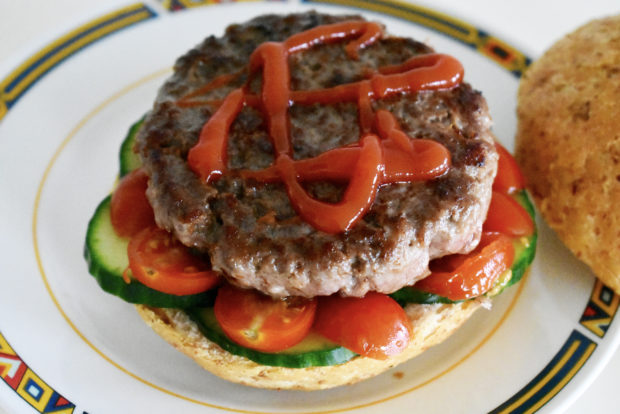 hamburger beef burger recept