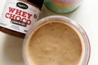 chocolade eiwitshake recept whey choco