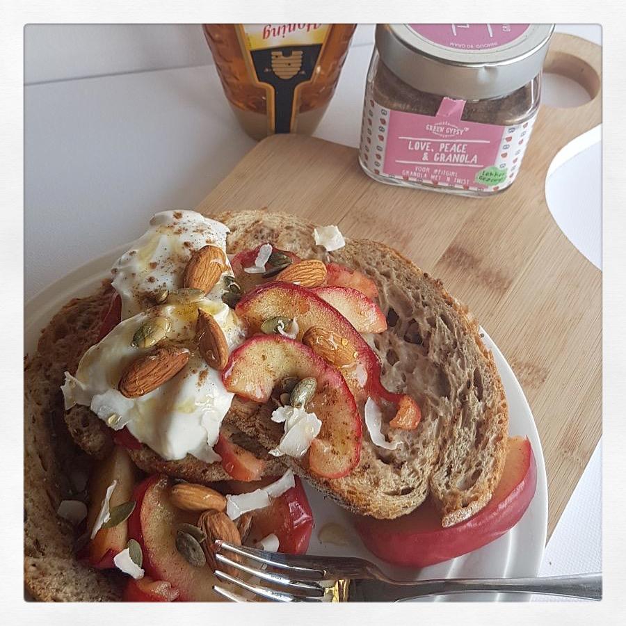 wentelteefjes appeltaart french toast recept