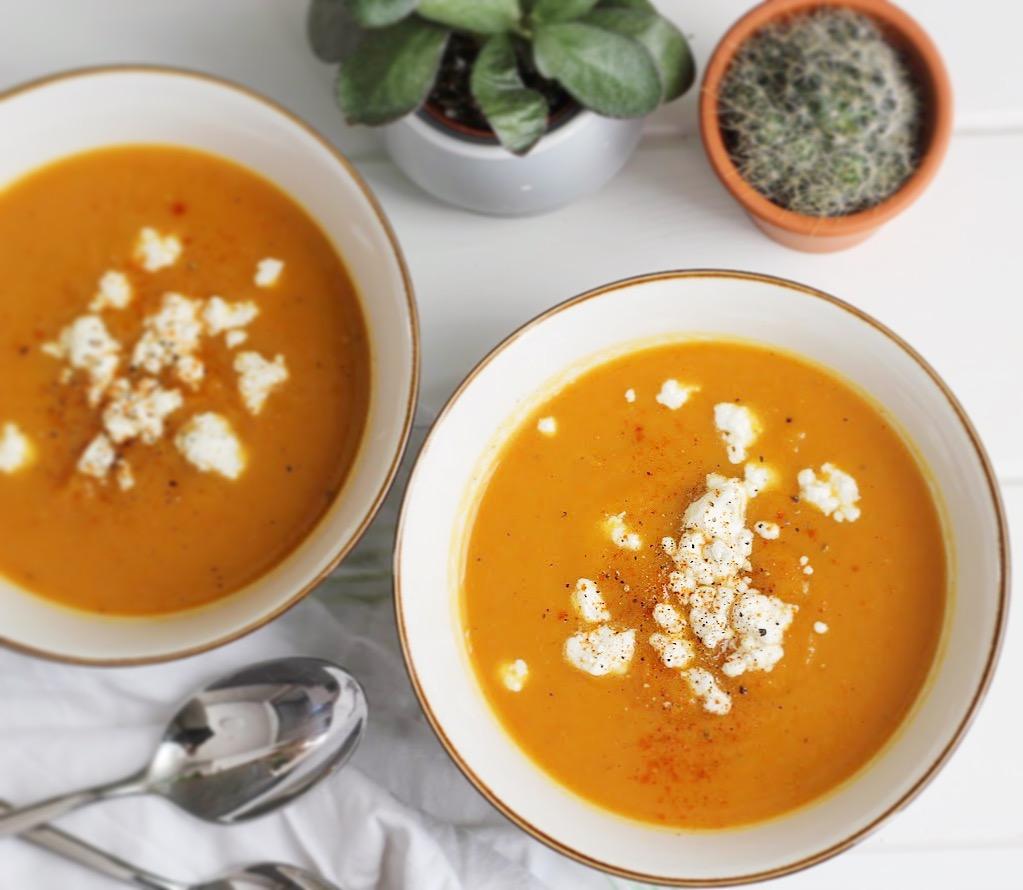 wortel-pompoensoep recept