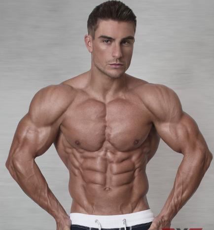Ryan Terry genetische potentie om spiermassa op te bouwen