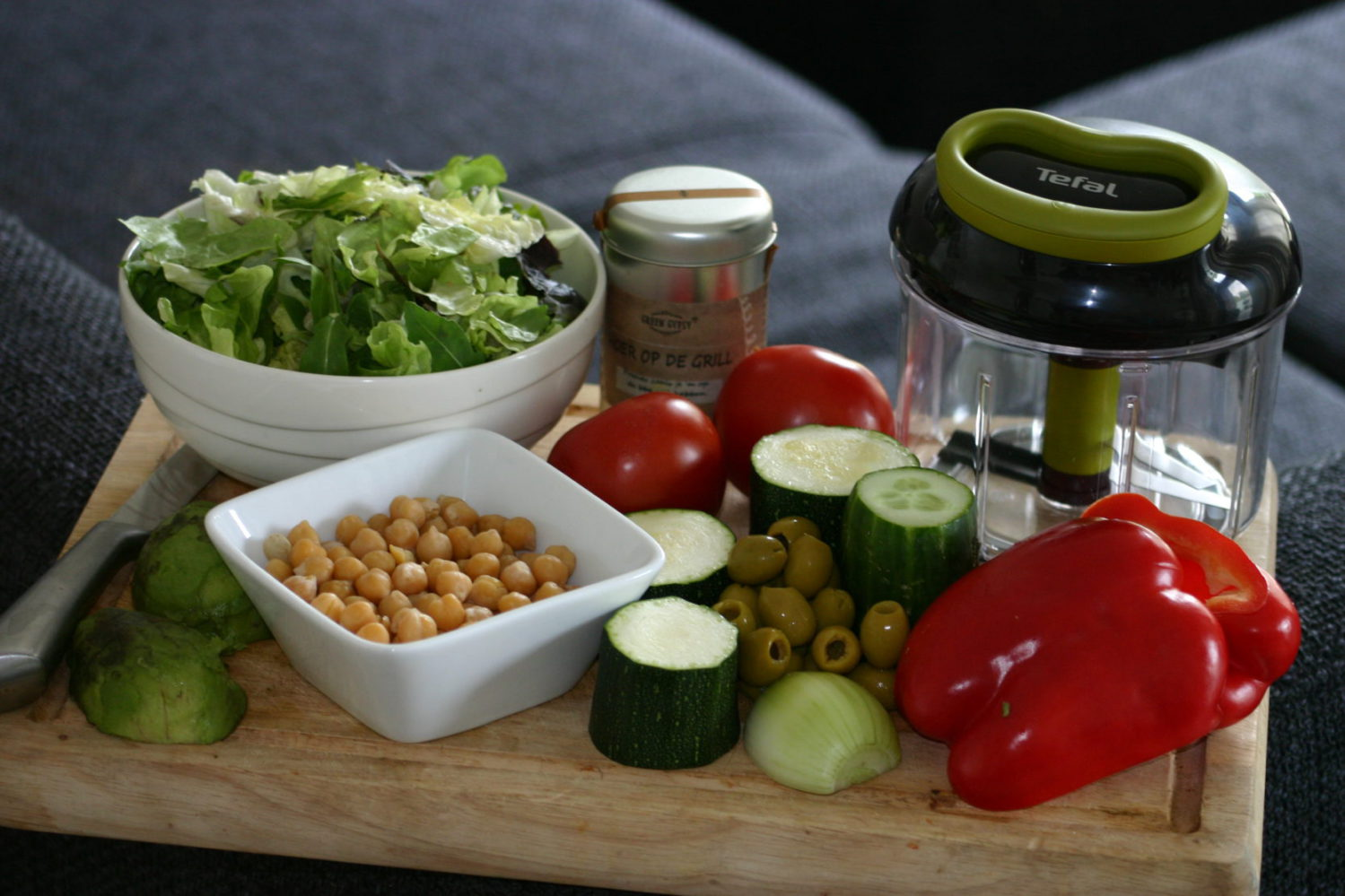 tefal 5-second-chopper hakmolen recept