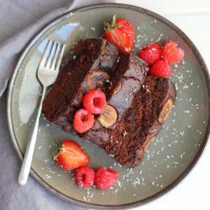 healthy chocolade cake recept