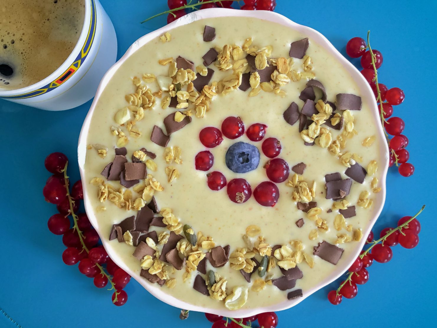 summer smoothie bowl smoothiebowls recept eiwitrijk
