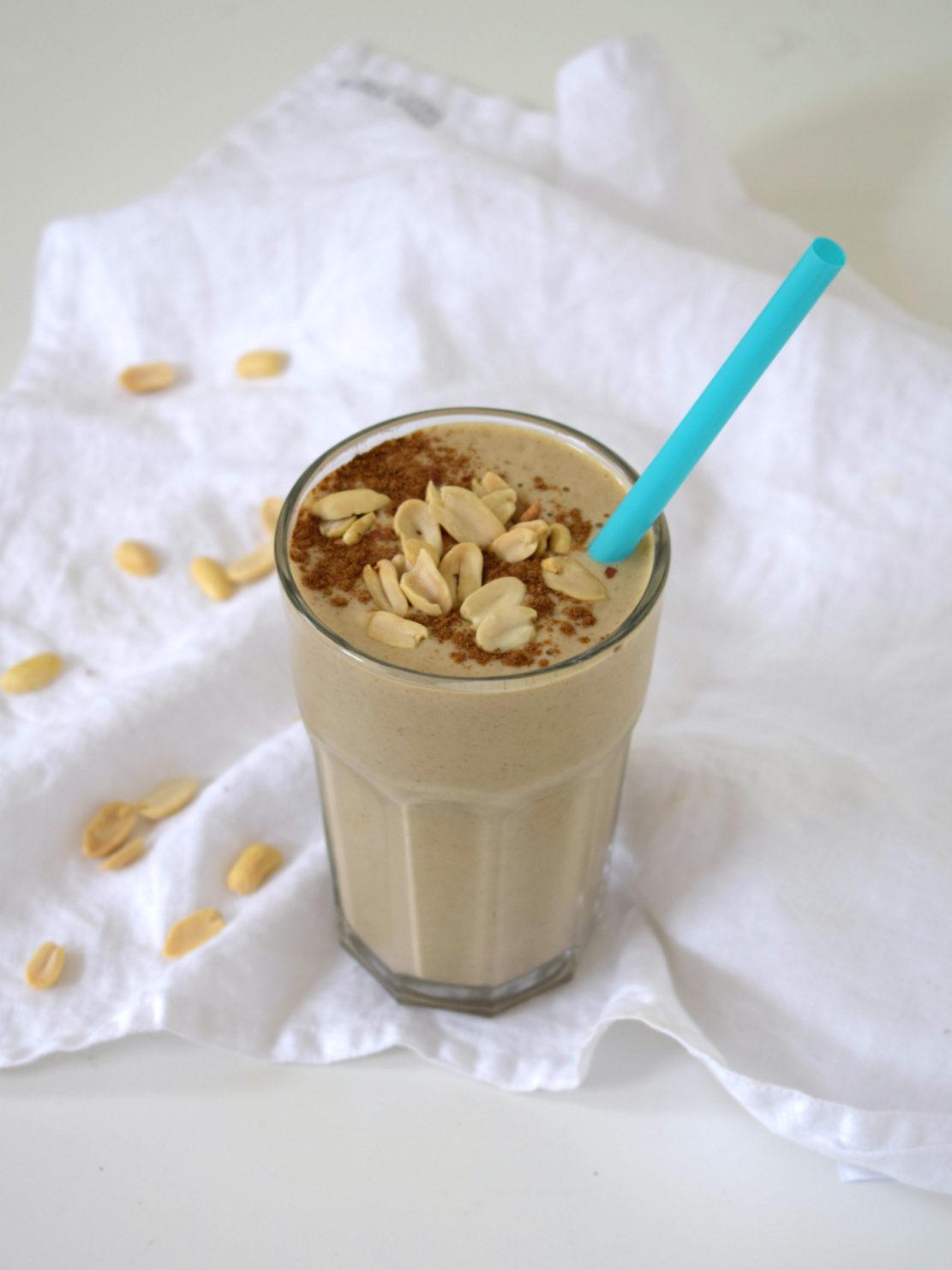 vegan protein milkshake recept