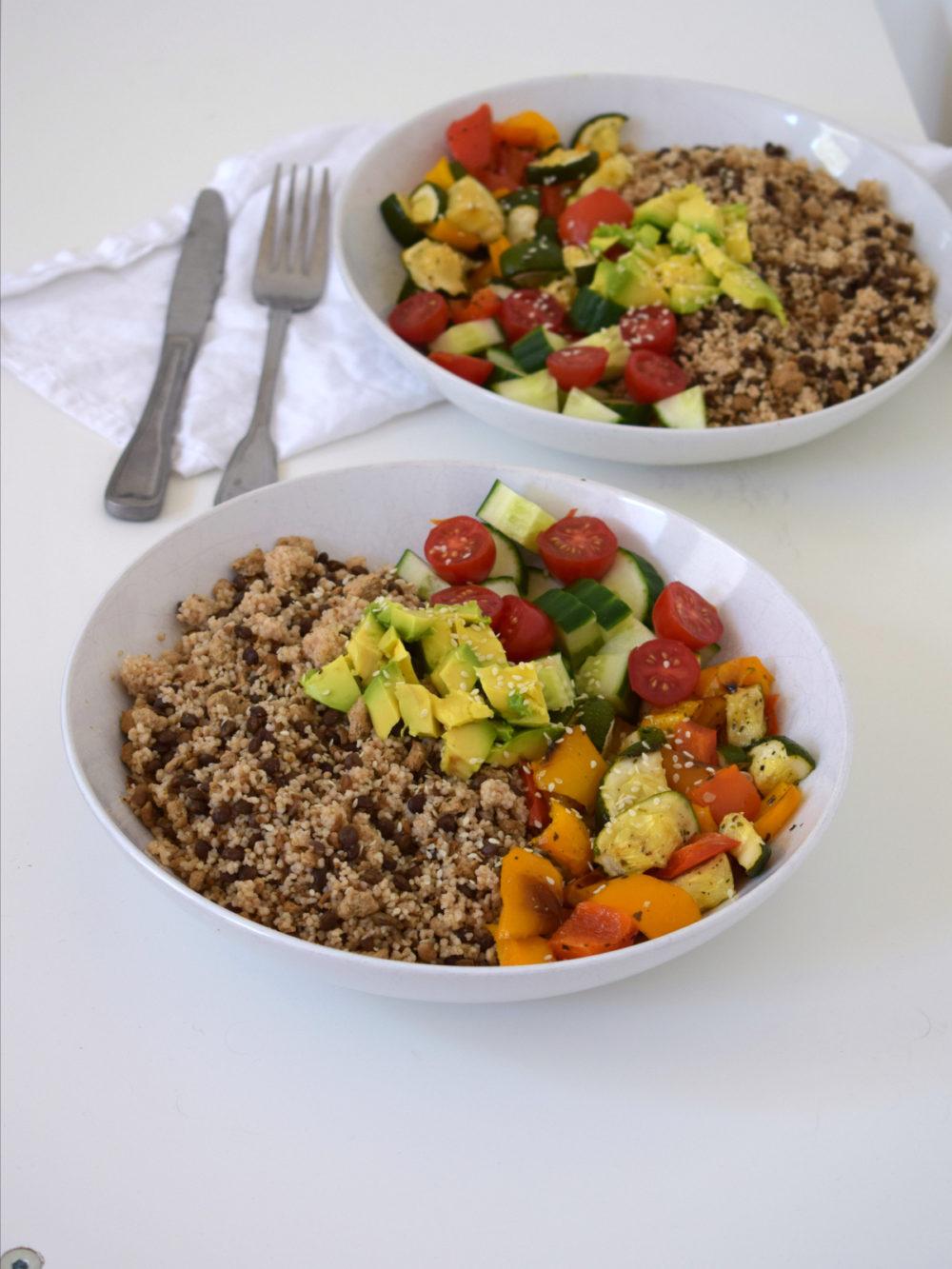 power couscous vegan recept