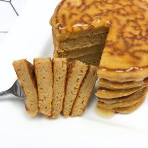 Pompoen proteïne pannenkoekjes eiwitrijk recept