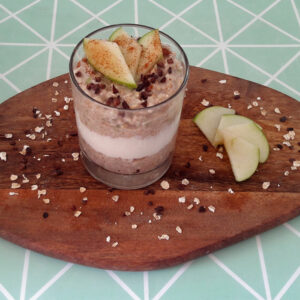 appeltaart overnight oats havermout recept