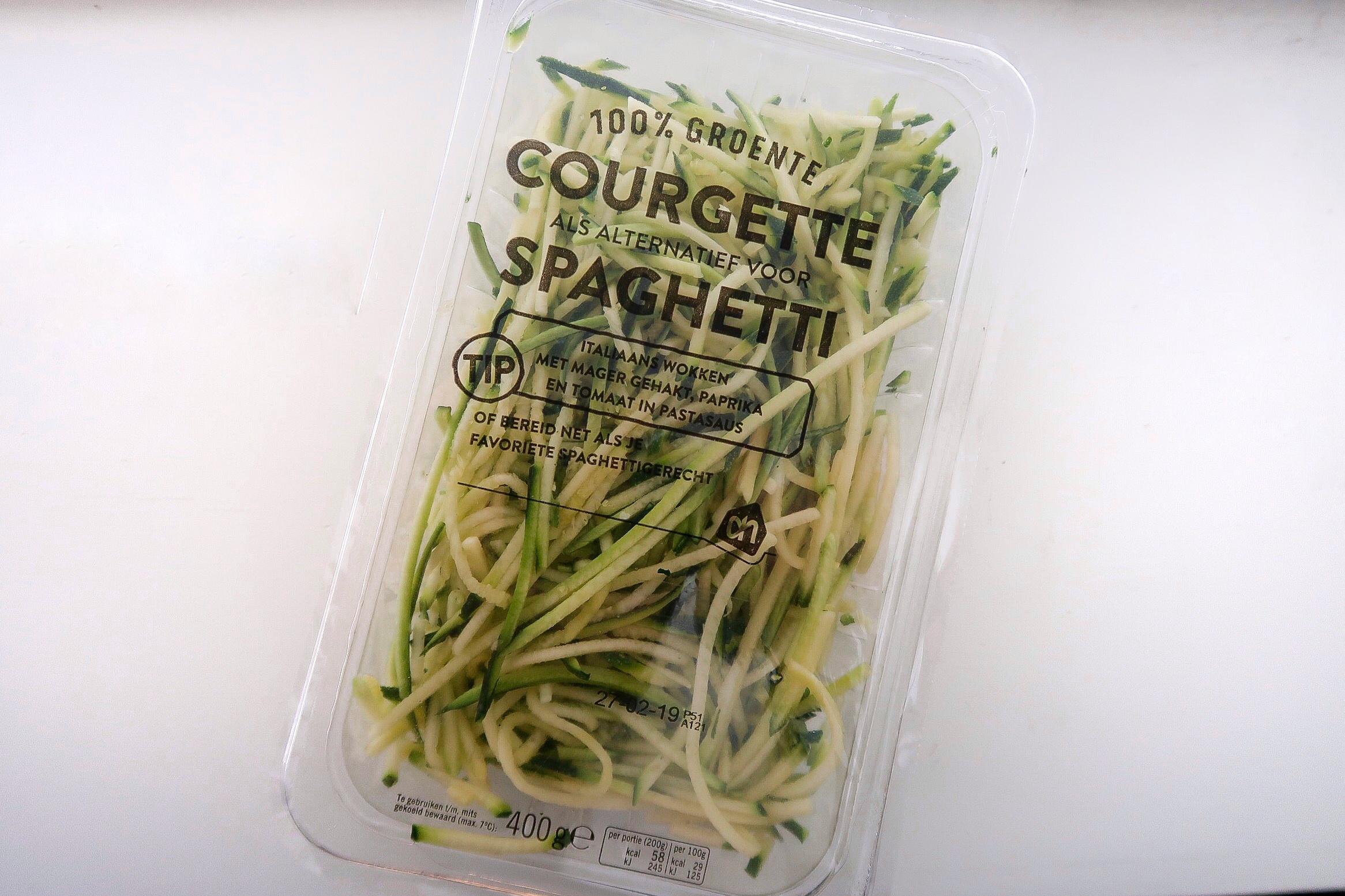 gezonde producten, product tips, gezonde voeding, afvallen, vet verliezen, gymjunkie lifestyle plan, gezond afvallen, courgette spaghetti