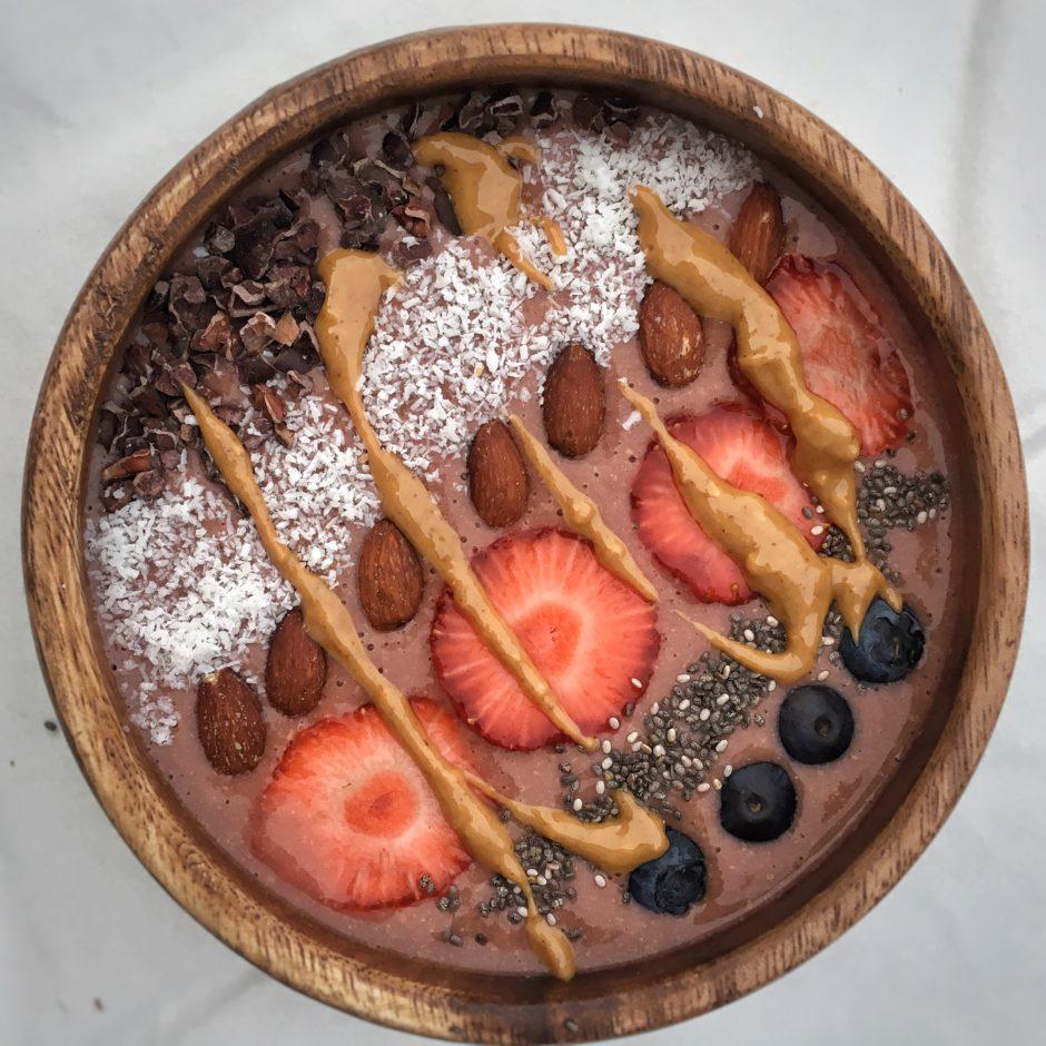 smoothie, recept, gezond ontbijt