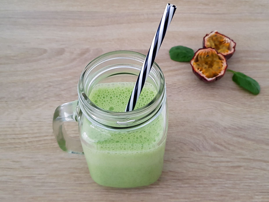 smoothie recept, gezond recept, eiwit rijke smoothie