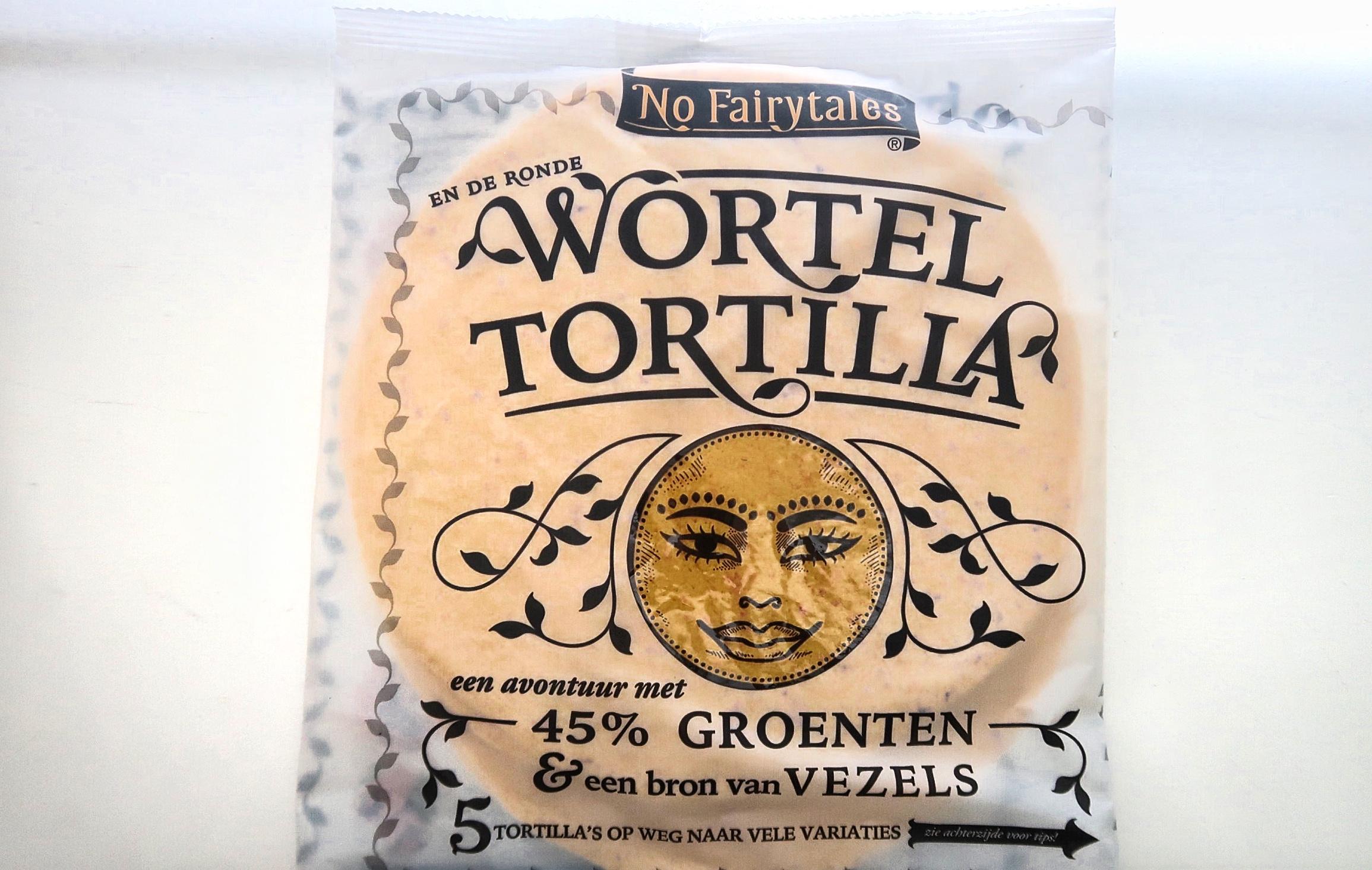 tortilla, no fairtytales, wortel tortilla