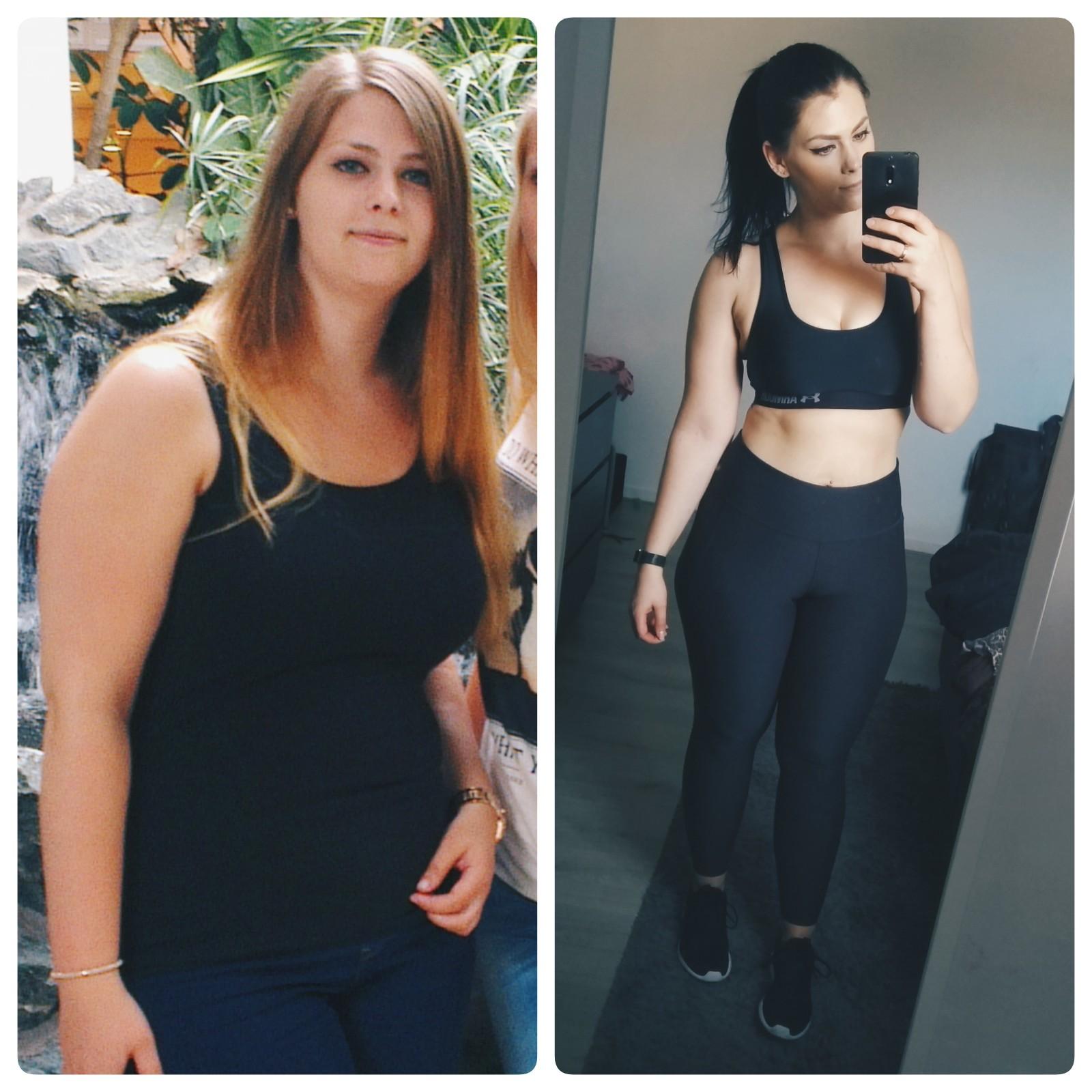 gymjunkie van de week, transformatie, fitgirl