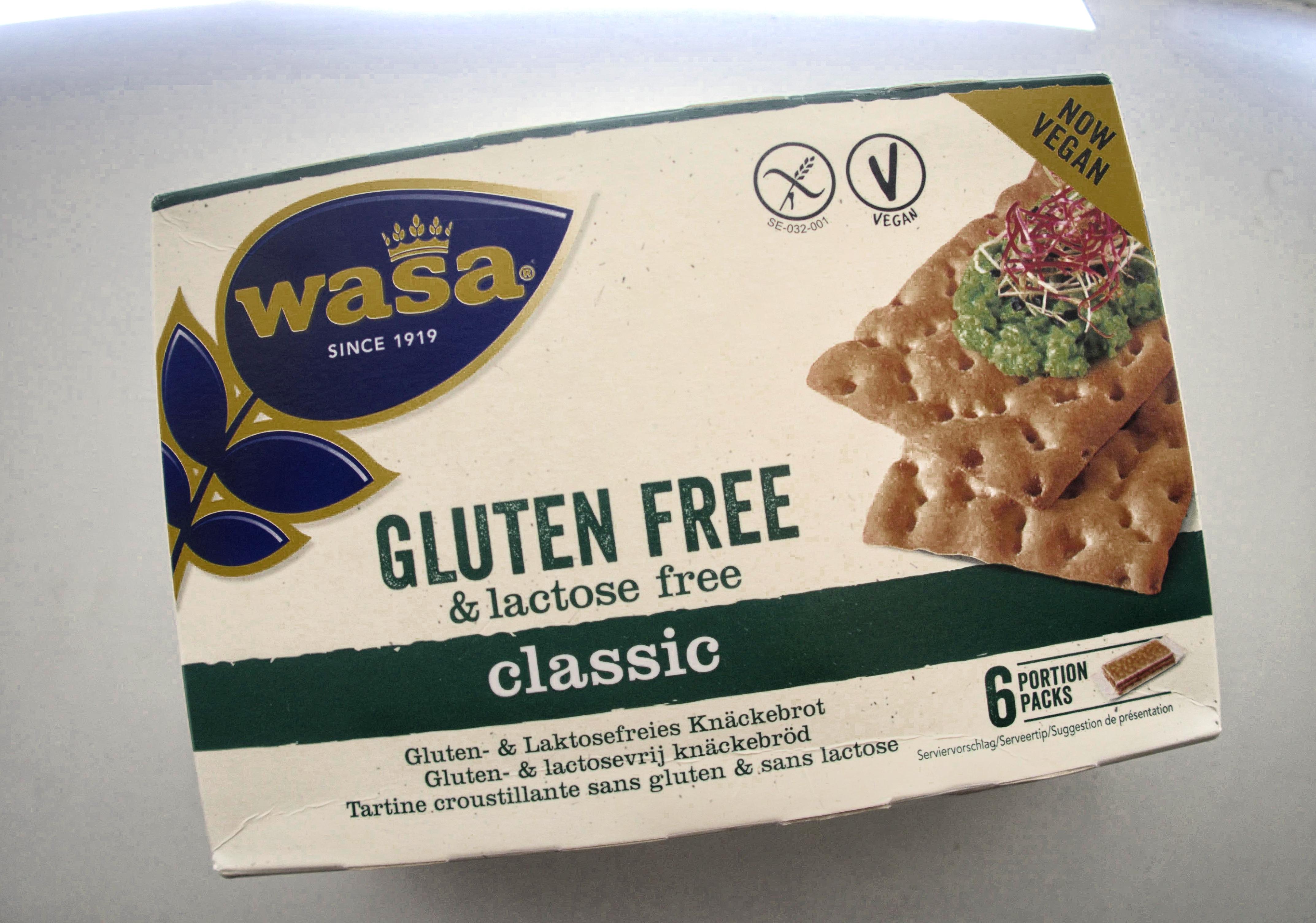 wasa crackers, glutenvrij, lactose vrij, product tips, gymjunkies