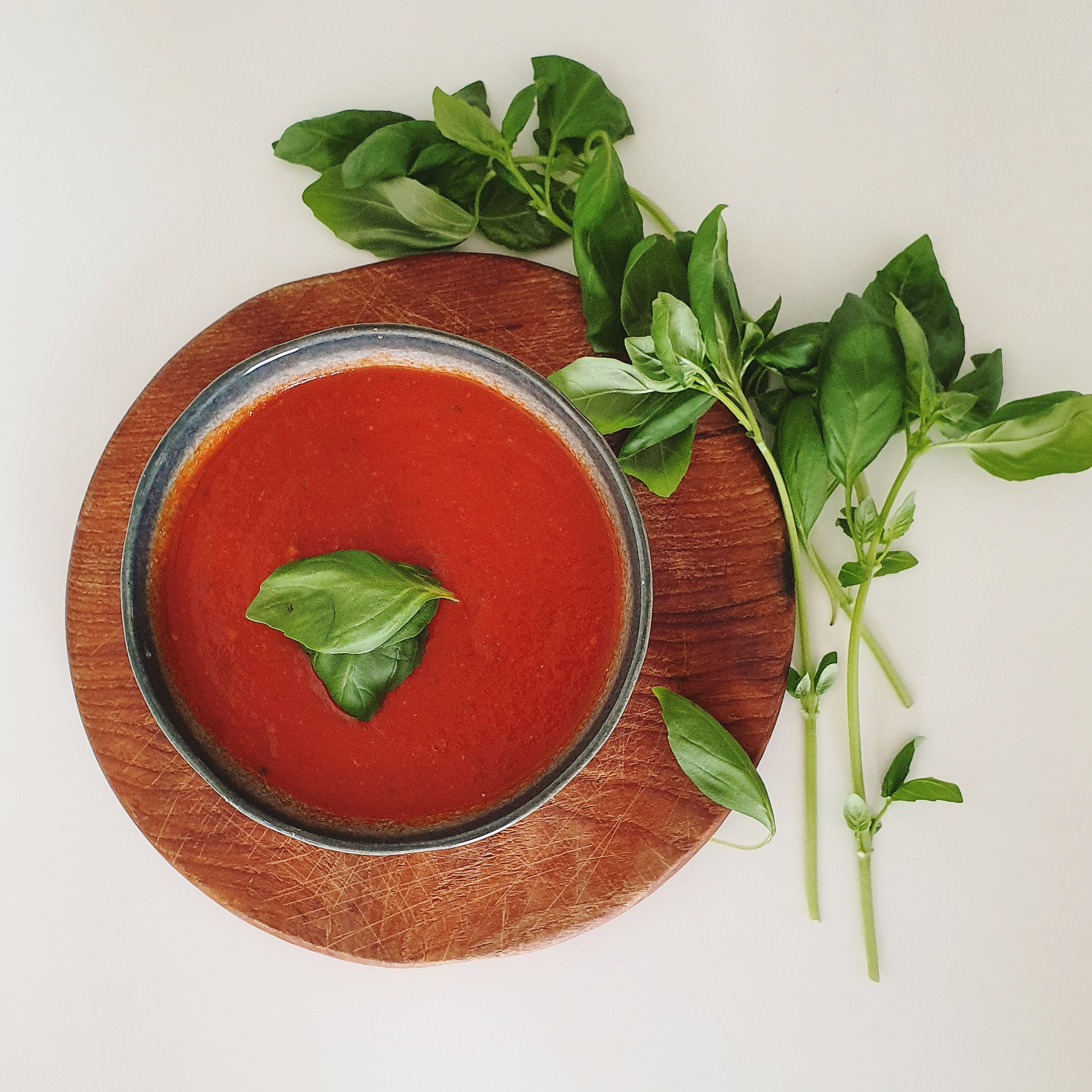 recepten, tomatensoep, voeding