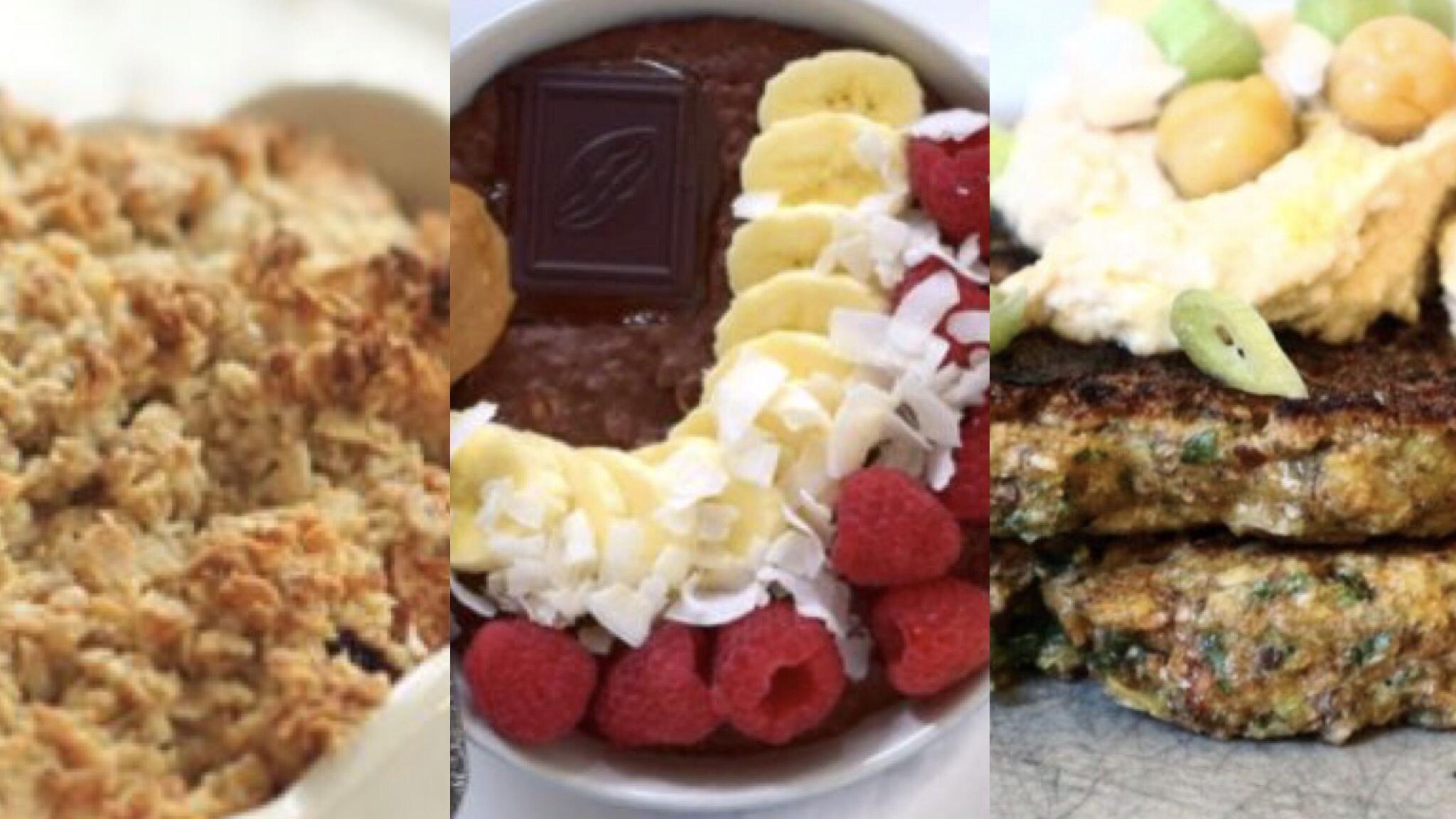 gezond ontbijt, eiwitrijk ontbijt, recept ontbijt