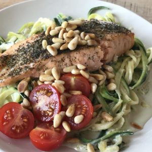 Recept courgetti