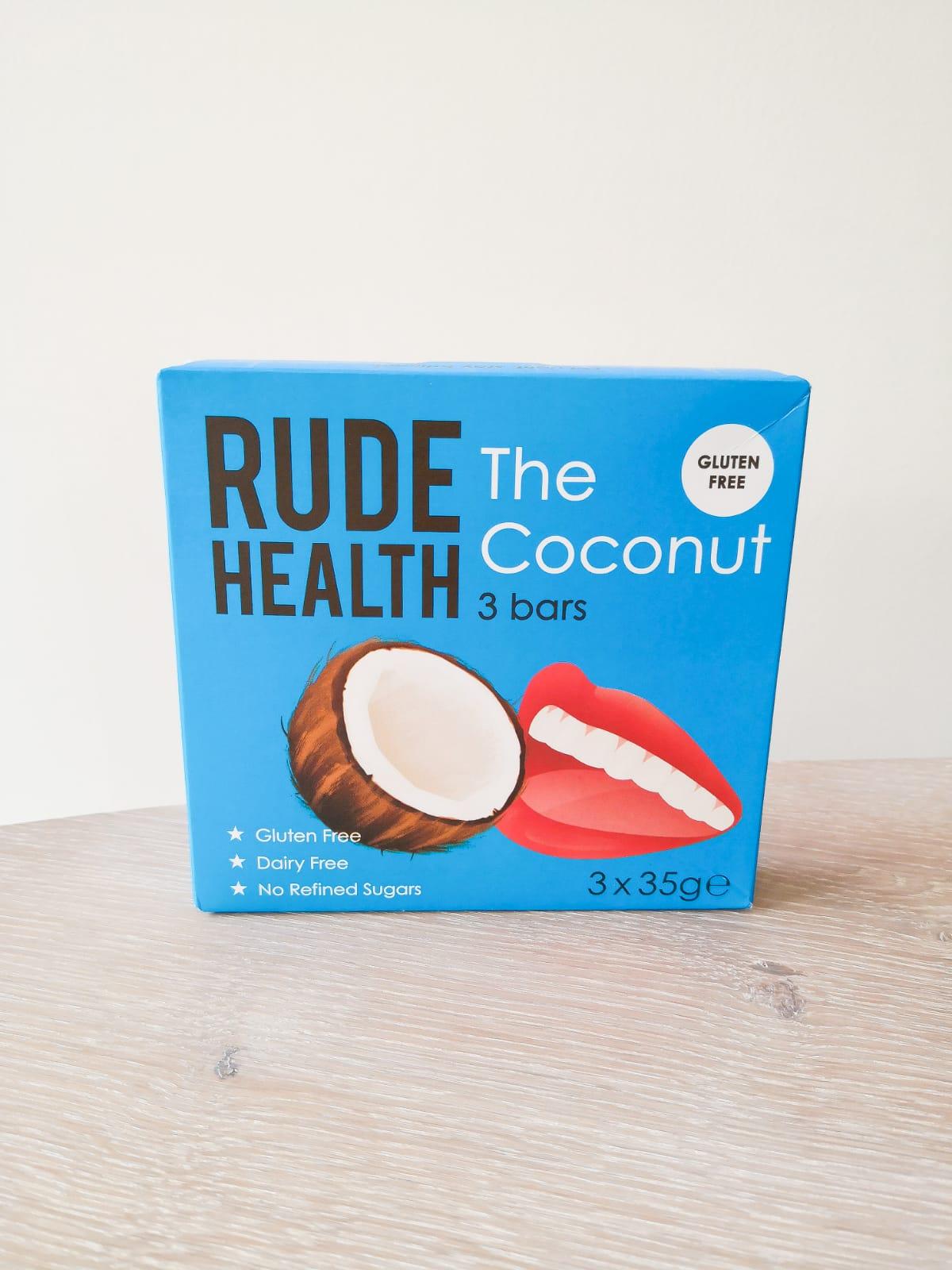 rude health coconut boodschappenlijst