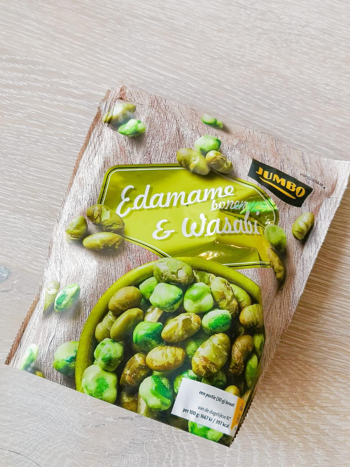 edame wasabi bonen boodschappenlijst