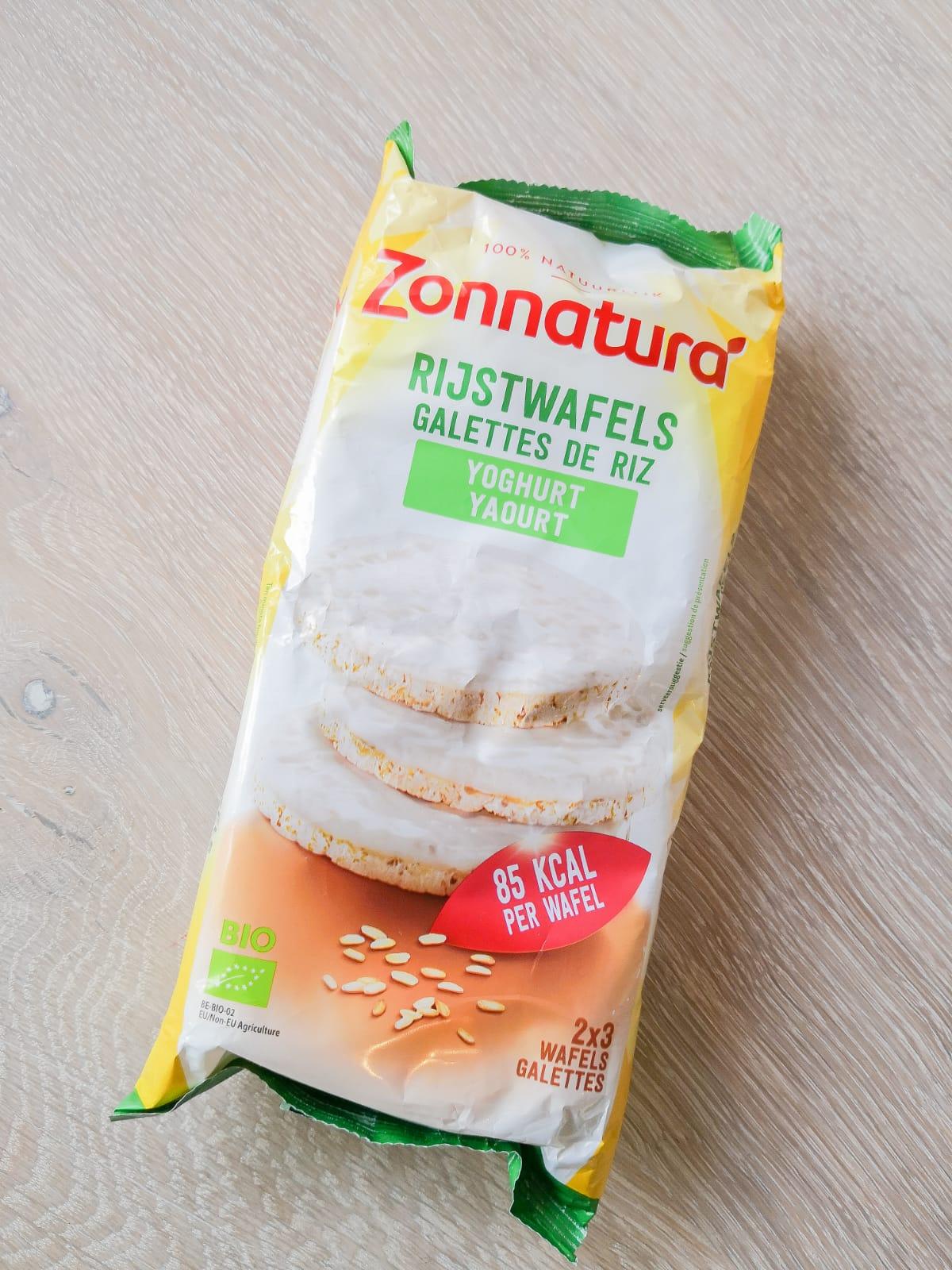 zonnatura rijstwafels yoghurt boodschappenlijst
