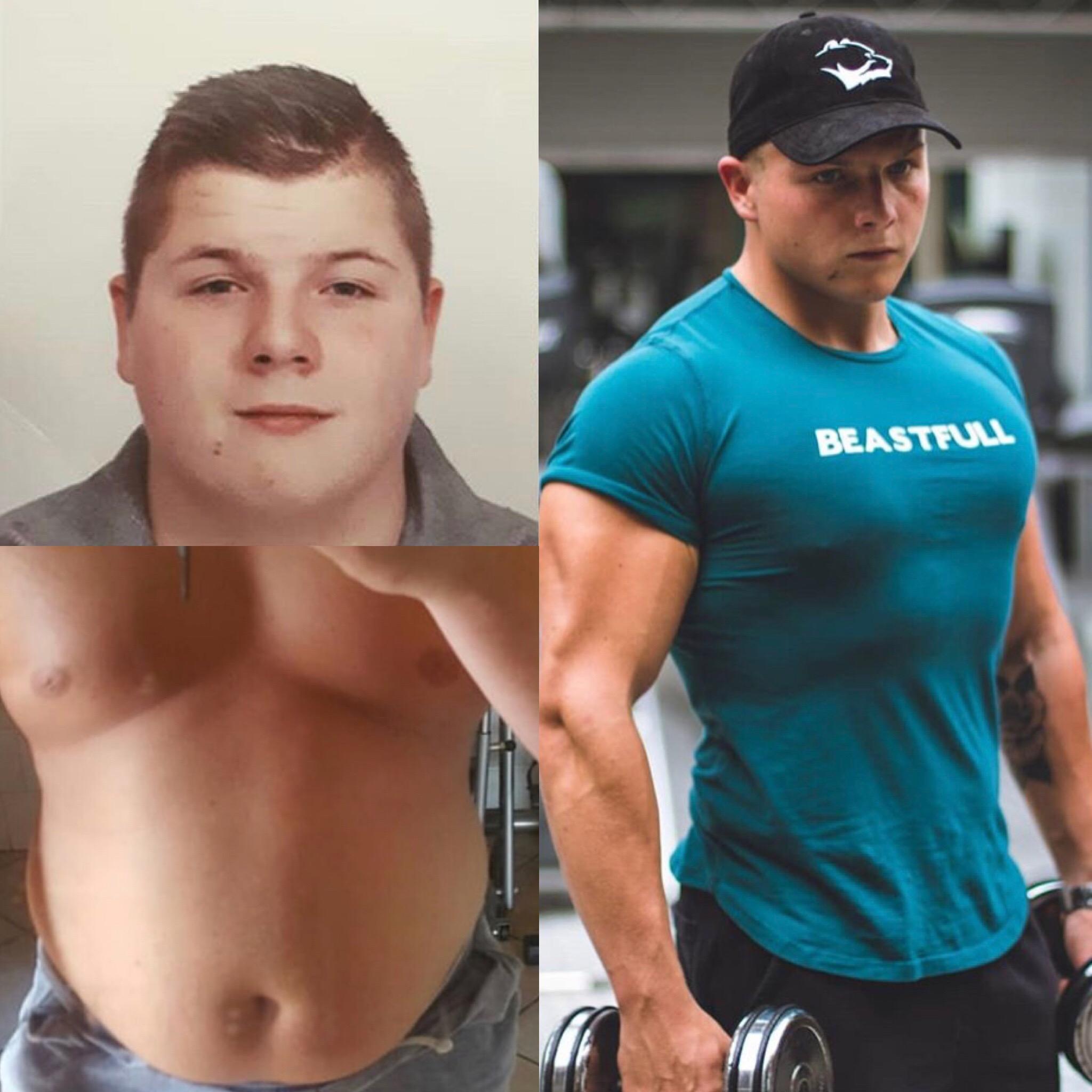 gewicht verliezen transformatie afvallen