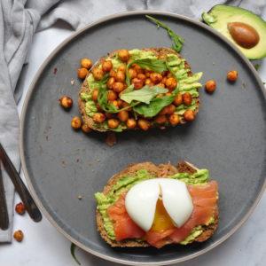 toast avocado